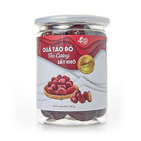 [Táo Đỏ King Size] Táo Đỏ Tân Cương Loại 1, Táo Đỏ Tân Cương Sấy Khô Hũ Nắp Nhôm 150g - Fami Nuts - Hạt Dinh Dưỡng Cao Cấp.