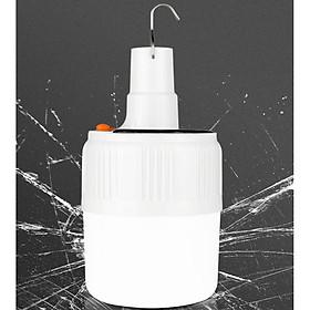 Đèn tích điện 100W 24 Led Sạc tích điện thông minh, Đèn sạc năng lượng mặt trời GD406-Dentichdien