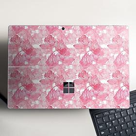 Skin dán hình hoa hồng - stic250 cho Surface Go, Pro 2, Pro 3, Pro 4, Pro 5, Pro 6, Pro 7, Pro X - Mã: stic250 - Surface Pro X