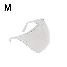 Anti-Fog Face Shields Goggles Safety Full Face Guard,Clear Dustproof Eye Shield Mouth Full Face Protection