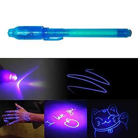 Bút Mực Tàng Hình Có Đèn LED UV - màu ngẫu nhiên