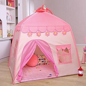 Lều công chúa hoàng tử cho bé hình chóp ngôi nhà