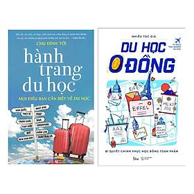 Combo Sách Cẩm Nang Du Học: Hành Trang Du Học + Du Học 0 Đồng
