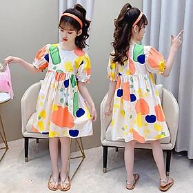 Váy đầm tiểu thư cực xinh cho bé gái lớn, size đại từ 4 - 14 tuổi [từ 15 - 45kg]