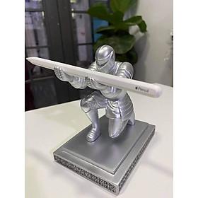 Giá đỡ dành cho Apple Pencil 1, 2, bút hiệp sĩ Knight Pen Holder tặng kèm bút bi kim loại