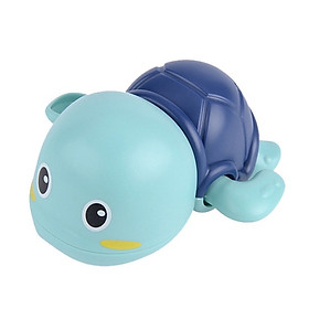 Rùa Bơi đồ chơi vặn cót biết bơi trong nước siêu dễ thương, dùng cho bé chơi trong nhà tắm, bể bơi mini kích thích bé cưng đi tắm an toàn cho trẻ em - Xanh Lá Cây