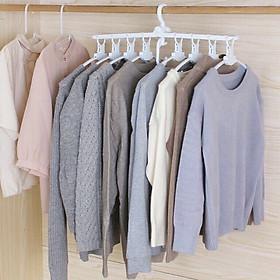 Móc treo quần áo đa năng hình khung gập gọn thông minh  VIDA - màu ngẫu nhiên