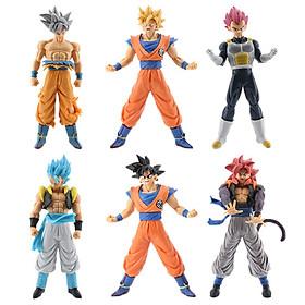 Bộ 6 mô hình Dragon Ball cao 18cm - Mẫu 1