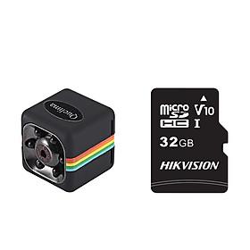 Mini DVR Camera HD Car Camcorder 1080P Video Recorder  W/Memory Card