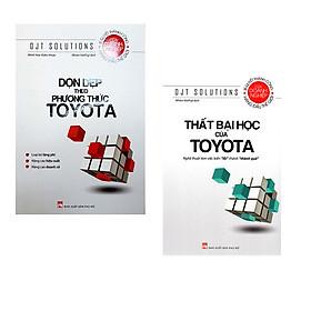 Combo Dọn Dẹp Theo Phương Thức Toyota + Thất Bại Học Của Toyota