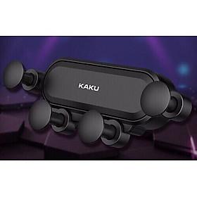Giá đỡ kẹp điện thoại trên xe hơi ô tô (cửa sổ máy lạnh) hiệu Kaku Air Holder - Hàng nhập khẩu