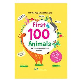 Sách Lift the Flap - 100 từ đầu tiên về các loài động vật
