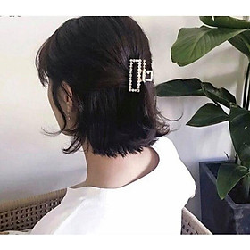 Kẹp tóc ngọc trai - kẹp gấp sau tóc