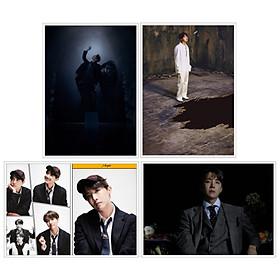 "Poster J-HOPE BTS ""Map Of The Soul: 7"" 4 tấm"