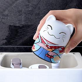 MÈO THẢ BỒN CẦU NHẬT BẢN. Model: MANEKI01. Công nghệ diệt khuẩn, khử mùi Nano tới từ Nhật Bản. Thời gian sử dụng 3 tháng