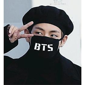 Khẩu trang đen BTS