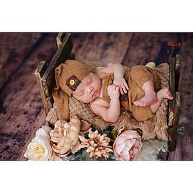 Chụp ảnh cho bé sơ sinh tại nhà của gia đình - gói NewBorn Home Calla 1