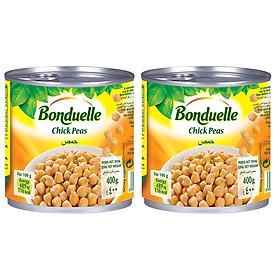 Đậu Gà Chick Peas Bonduelle Lốc 2 lon (400g x 2)