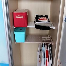Kệ đa năng chia ngăn tủ,quần áo.giày dép tiện lợi không cần bắt vít