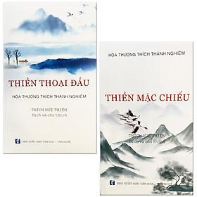 Bộ 2 Cuốn Hòa Thượng Thích Thánh Nghiêm: Thiền Thoại Đầu + Thiền Mặc Chiếu