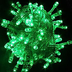 Dây đèn led trang trí 5m nháy 1 màu nhiều chế độ nháy