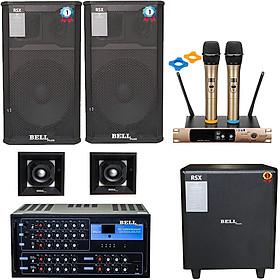 Bộ dàn nhạc karaoke gia đình KMS - 1506 BellPlus (hàng chính hãng)