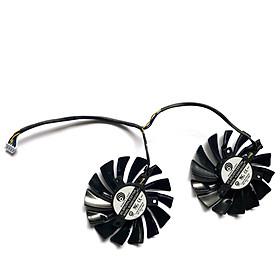 2pcs/lot Original 87mm PLD09210S12HH 4PIN RtX580 P106-100 Mining GPU Fan For MSI RtX 470 480 570 580 ARMOR Graphics Video Card Cooling Fans