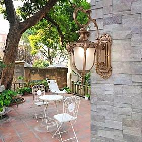 Đèn Tường Cột, Ban Công, Sân vườn biệt thự Phong cách Châu Âu siêu sáng không thấm nước