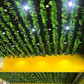 Combo 10 dây lá giả trang trí nội thất, sân vườn, quán cà phê, nhà hàng