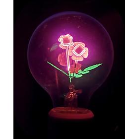 đèn sợi đốt edison 2 bông hồng