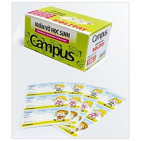 Bộ 3 Nhãn Vở Campus Holiday NT-HOD12 (12 Nhãn)