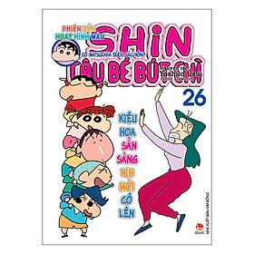 Shin Cậu Bé Bút Chì - Phiên Bản Hoạt Hình Màu (Tập 26)