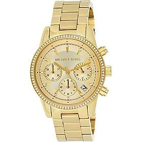 Michael Kors Women's Ritz Gold-Tone Watch MK6356