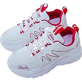 Giày Sneaker Nữ Nhịp Sóng Hàn Đen