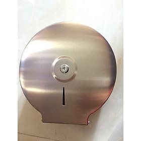 Hộp đựng giấy vệ sinh kiểu tròn , chất liệu thép không gỉ tráng gương, thép dày D-089
