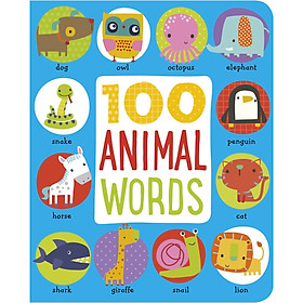 First 100 Animals (Hardcover – Illustrated)