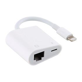 Cáp chuyển đổi Lightning sang dây mạng RJ45 Ethernet LAN cho iPhone/iPad từ iOS 10 trở lên
