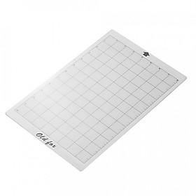 """Tấm Lót Nhựa Trong Suốt Đo Cắt Giấy Old Fox Grid (8 x 12"""")"""