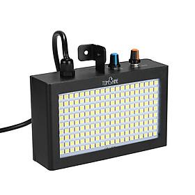 Đèn LED Chớp Theo Nhạc Sân Khấu Xách Tay Có Điều Chỉnh Tốc Độ Tomshine (180 Bóng) (Phích UK)