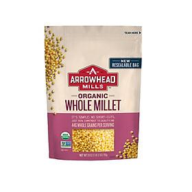 Hạt kê hữu cơ Arrowhead Mill 794gr - Organic Whole Millet - Hulled