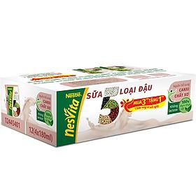 Thùng 30 Hộp Sữa 5 Loại Đậu Nestlé Nesvita Uống Liền (180ml/ Hộp)