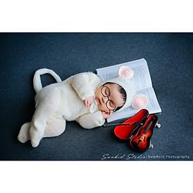 Chụp ảnh cho bé sơ sinh tại nhà của gia đình - Gói NewBorn Home Calla 3