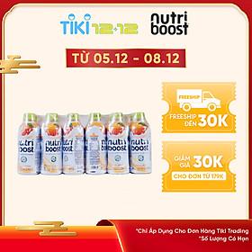 Lốc 24 Chai Sữa NutriBoost Hương Cam (297ml / Chai)