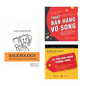 Bộ: Salesology - Bí Kíp Bán Hàng Của Triệu Phú Holcomb - Tự Tin Bán Hàng Thành Công - Thuật Bán Hàng Vô Song