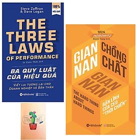 Combo Gian Nan Chồng Chất Gian Nan và Ba Quy Luật Của Hiệu Quả - Viết Lại Tương Lai Cho Doanh Nghiệp Và Bản Thân ( Tặng Kèm Sổ Tay )