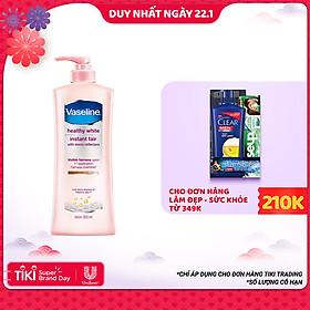 Sữa Dưỡng Thể Trắng Da Vaseline Instant Fair Chai (350ml)
