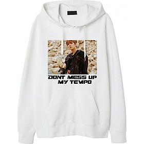 Mẫu Áo Khoác Chui Đầu Don't Mess Up My-Tempo EXO Baekhyun