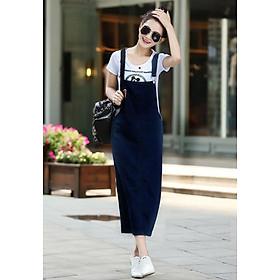 Đầm Yếm Jean Thun Dài Phối Túi