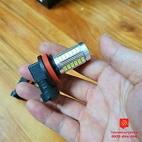 Bóng Đèn Led gầm xe hơi Demi Đờ mi chân H8 H9 H11 cho xe hơi ô tô siêu tiết kiệm Toyota Innova Vios Honda City Sương mù