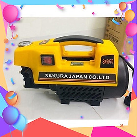máy rửa xe siêu khỏe 2500W -  Sakura độ ồn thấp - giao màu ngẫu nhiên